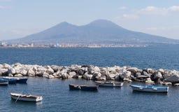 Mergellina Bay of Naples Royalty Free Stock Photo