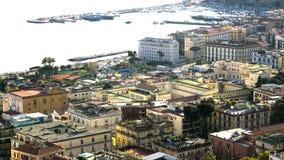 MERGELLINA DESDE ARRIBA Foto de archivo libre de regalías