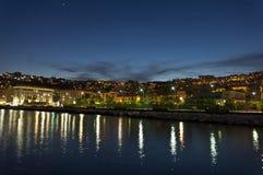 Mergellina di notte Fotografering för Bildbyråer