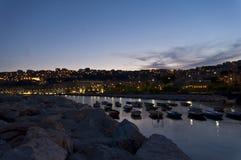 Mergellina di notte Imagen de archivo libre de regalías