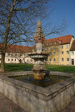Mergentheim Fountain Royalty Free Stock Photo