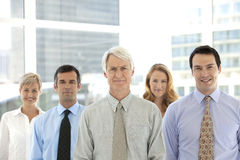 Merger and acquisition. Management team. Managers of a business company Royalty Free Stock Images