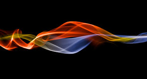 Merging energy streak backdrop Royalty Free Stock Images
