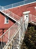 Merging stairways Stock Photography