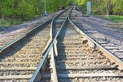 Free Merging Tracks 2 Royalty Free Stock Photos - 40810998