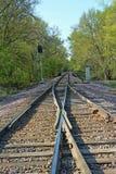 Merging Tracks 3 Stock Photography