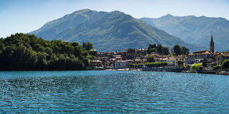 Mergozzo's lake royalty free stock photo