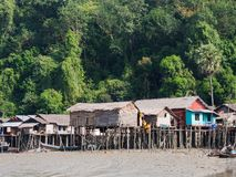 Mergui群岛的Kala海岛 图库摄影