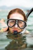 Mergulhador fotografia de stock