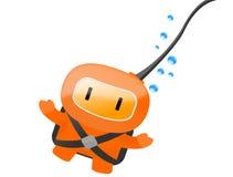 Mergulhador Imagens de Stock Royalty Free