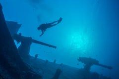 Mergulhador da destruição Foto de Stock