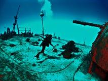 Mergulhador da destruição da fantasia Imagem de Stock Royalty Free