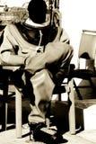 Mergulhador da esponja Imagens de Stock