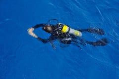 Mergulhador do mergulhador Imagens de Stock