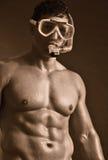 Mergulhador do Sepia Imagens de Stock