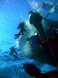 Mergulhadores Fotografia de Stock Royalty Free