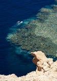 Mergulhadores no Mar Vermelho (Sharm-EL-Sheik) Imagens de Stock
