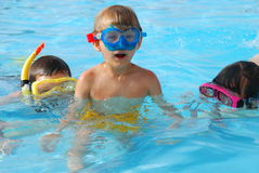 Mergulhadores novos imagens de stock