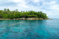 Mergulhando o ponto Phuket Imagens de Stock Royalty Free