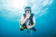 Mergulho autónomo Fotos de Stock