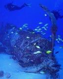 Mergulho da destruição do Corsair Fotos de Stock Royalty Free