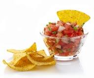 Mergulho da salsa Imagens de Stock