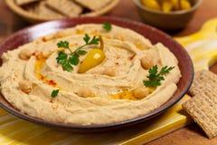 Mergulho de Hummus Imagens de Stock