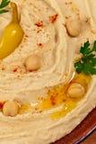 Mergulho de Hummus Fotos de Stock