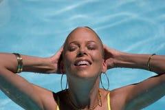 Mergulho de refrescamento Fotos de Stock Royalty Free