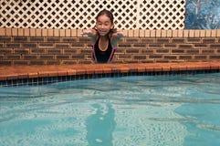 Mergulho dentro Fotografia de Stock