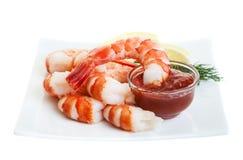 Mergulho do camarão Imagem de Stock