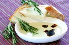 Mergulho do pão de Vinegrette Imagens de Stock