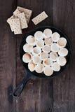 Mergulho e Graham Crackers de Smores Foto de Stock Royalty Free