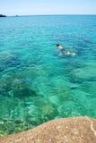 Mergulho em Tailândia fotografia de stock