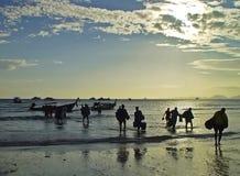 Mergulho em Tailândia Fotos de Stock Royalty Free