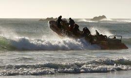 Mergulho indo Fotos de Stock