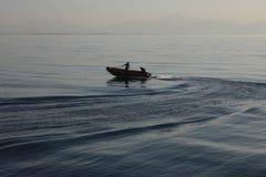 Mergulho inflável para mergulhadores Fotografia de Stock Royalty Free