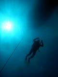 Mergulho mediterrâneo Fotografia de Stock