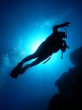 Mergulho mediterrâneo Fotografia de Stock Royalty Free