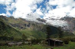 Meri snow mountain Royalty Free Stock Photo