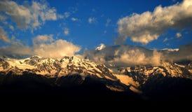Meri Snow Mountain Imagen de archivo