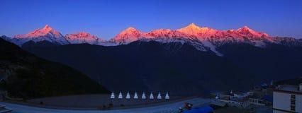 Meri Snow Mountain Royalty Free Stock Image