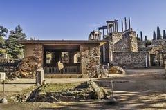 Merida archeological site Stock Photo