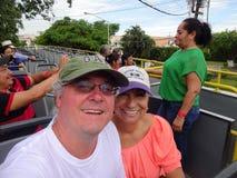 Merida Bus Tour Lizenzfreies Stockbild