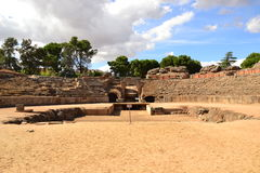 Merida, circo romano, arena Fotografie Stock Libere da Diritti