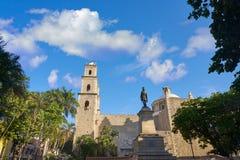 Merida city Tercera Orden church Yucatan Royalty Free Stock Image