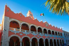 Merida city Town hall of Yucatan  Mexico Stock Image
