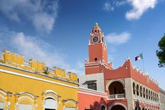Merida city Town hall of Yucatan  Mexico Stock Image