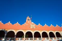 Merida city Town hall of Yucatan  Mexico Royalty Free Stock Photo