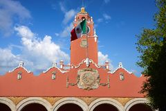 Merida city Town hall of Yucatan  Mexico Stock Images